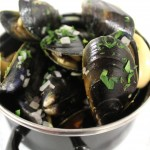 Mussels served at Bleeding Heart french restaurant and bistro