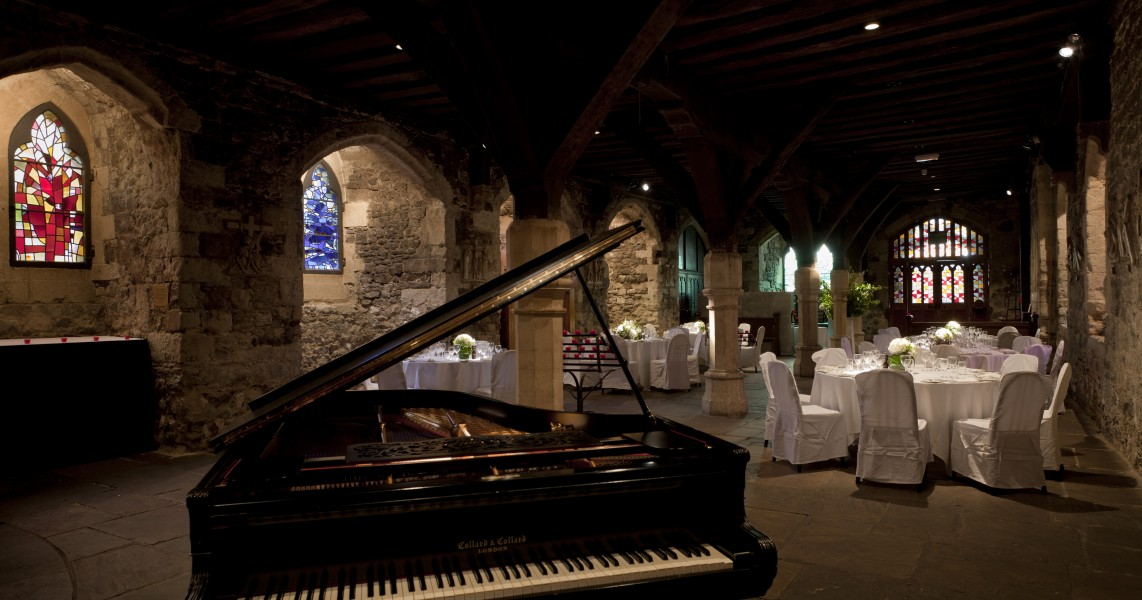 Weddings At The Crypt Of Ely Place Bleeding Heart Restaurants