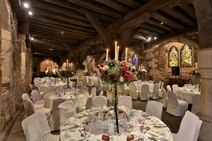 top 10 wedding venues UK the Crypt at bleeding heart