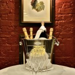 champagne dinner at bleeding heart french restaurant