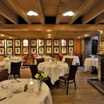 Private dinning at the French restaurant in Central London
