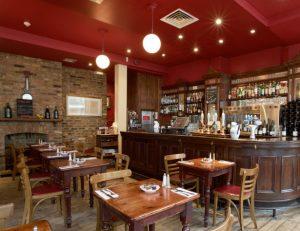 Bleeding Heart Tavern bar