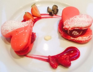 Private dinning with Macaroon french restaurant